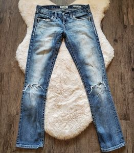 Daytrip aquarius straight distressed jeans